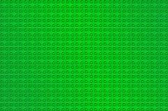 Fondo verde de Lego Imagenes de archivo