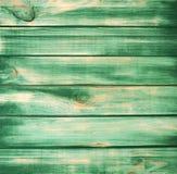 Fondo verde de madera de la textura Imagen de archivo libre de regalías