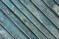 Fondo verde de madera para el diseño fotografía de archivo