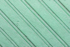 Fondo verde de tablones de madera Fotografía de archivo libre de regalías
