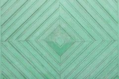 Fondo verde de tablones de madera Foto de archivo