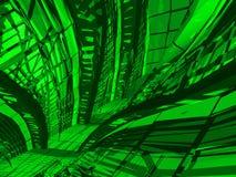 Fondo verde decorativo libre illustration