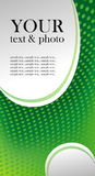 Fondo verde del absract Fotos de archivo