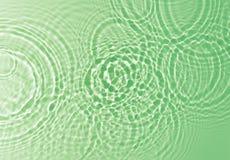 Fondo verde del agua Imagen de archivo libre de regalías