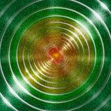Fondo verde del anillo Foto de archivo libre de regalías