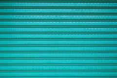 Fondo verde del extracto de la puerta Fotografía de archivo libre de regalías