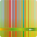 Fondo verde del extracto de la raya del tono Imagenes de archivo
