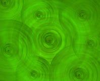 Fondo verde del extracto del arte de la ciencia ficción Imagenes de archivo