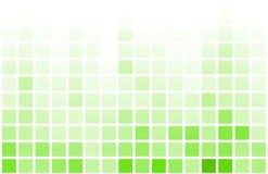 Fondo verde del extracto del juego del pixel del juego video stock de ilustración