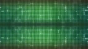 Fondo verde del mosaico almacen de video