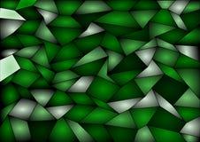 Fondo verde del mosaico delle mattonelle di vettore Fotografie Stock