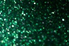 Fondo verde del nuovo anno o di Natale fotografia stock