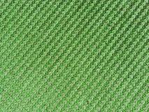 Fondo verde del tessuto Fotografia Stock Libera da Diritti