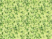 Fondo verde del triangolo Fotografia Stock