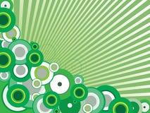 Fondo verde del vector Imágenes de archivo libres de regalías