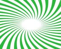 Fondo verde del vector del giro Fotos de archivo