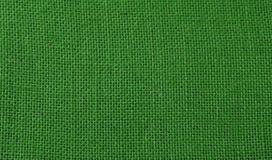 Fondo verde del yute Foto de archivo libre de regalías