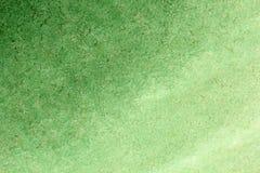 Fondo verde dell'acquerello di pendenza Priorità bassa di carta Backgrou fotografie stock