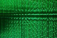 Fondo verde dell'estratto del LED Immagini Stock