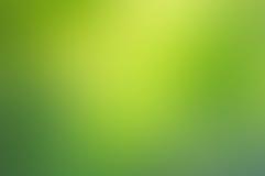 Fondo verde dell'estratto della sfuocatura Immagini Stock Libere da Diritti