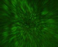 Fondo verde dell'estratto di arte della fantascienza Fotografia Stock Libera da Diritti