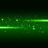 Fondo verde di numeri binari Fotografia Stock