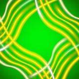 Fondo verde di struttura del panno Fotografia Stock Libera da Diritti