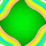 Fondo verde di struttura del panno Immagine Stock Libera da Diritti