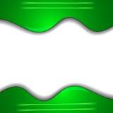 Fondo verde di struttura del panno Fotografie Stock