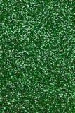 Fondo verde di struttura di scintillio Fotografie Stock