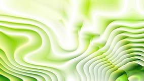 Fondo verde e bianco dell'ondulazione di curvatura royalty illustrazione gratis