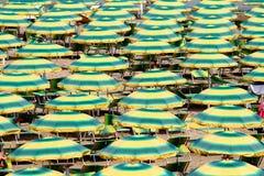 Fondo verde e giallo Fotografie Stock Libere da Diritti