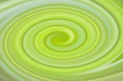Fondo verde e giallo dell'estratto della luce morbida Fotografie Stock