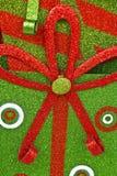 Fondo verde e rosso di Natale immagine stock