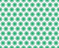 Fondo verde floreale di contorno Fotografia Stock