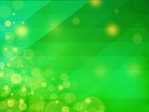 Fondo verde geométrico abstracto Fotos de archivo libres de regalías