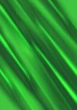 Fondo verde intenso di pendenza coperto di raggi che si muovono l'un l'altro Fotografia Stock