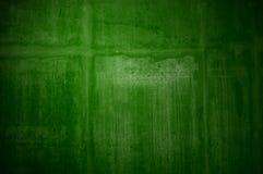 Fondo verde irregolare di lerciume Immagine Stock
