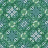 Fondo verde moderno con los modelos geométricos diagonales de la tira, diseño abstracto para la pañería, materia textil, tela, ar Foto de archivo libre de regalías