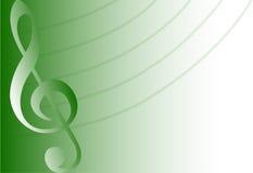 Fondo/verde musicales/EPS Fotos de archivo