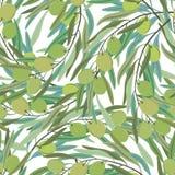 Fondo verde oliva illustrazione di stock