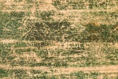 Fondo verde pintado de madera del marco del viejo vintage Foto de archivo libre de regalías