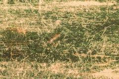 Fondo verde pintado de madera del marco del viejo vintage Imagenes de archivo