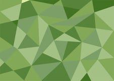 Fondo verde scuro del poligono di colore pastello Fotografie Stock Libere da Diritti