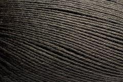 Fondo verde scuro di struttura della lana Fotografia Stock Libera da Diritti