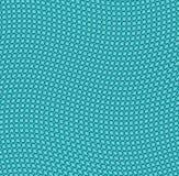 Fondo verde smeraldo ondulato di griglia Fotografie Stock Libere da Diritti