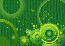 Fondo verde, vector   Stock de ilustración