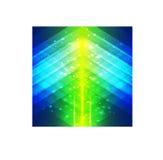 Fondo verde y azul del estilo geométrico abstracto Foto de archivo