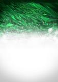 Fondo verde y blanco abstracto Imagenes de archivo