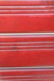Fondo vertical de madera rojo Imagen de archivo